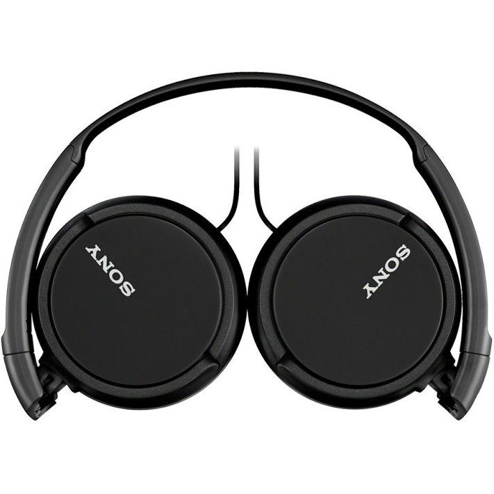 Наушники SONY MDR-ZX110 Black Конструкция накладные (накладываются на ухо)