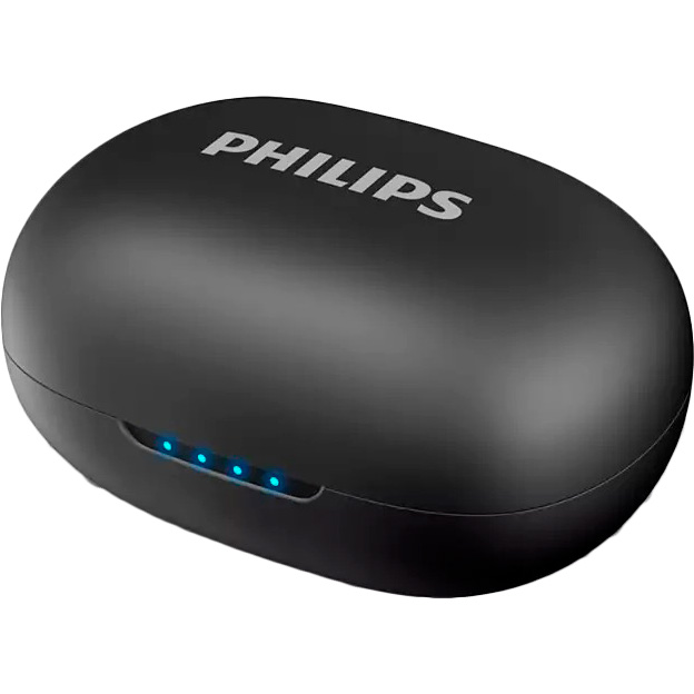 Гарнитура PHILIPS UpBeat True Wireless Mic Black (TAUT102BK/00) Крепление дуга (над головой)