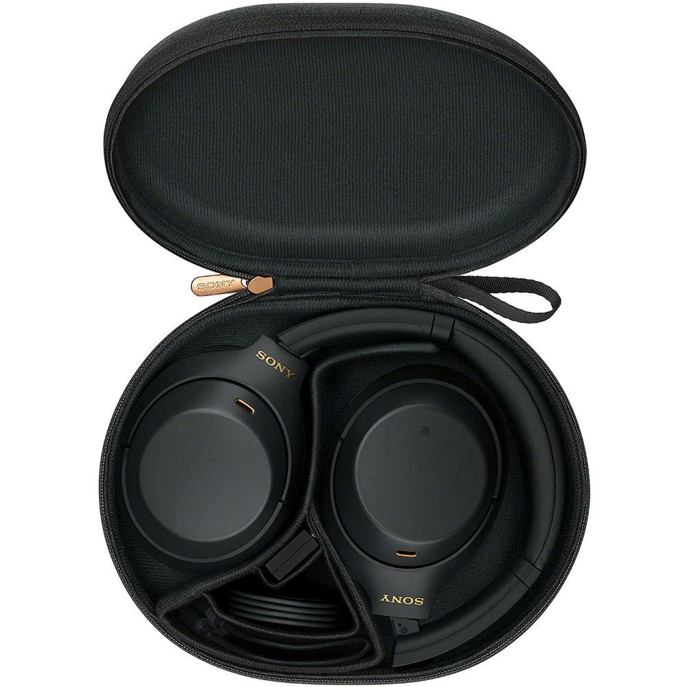 Гарнитура SONY WH-1000XM4 Black (WH1000XM4B.CE7) Крепление дуга (над головой)