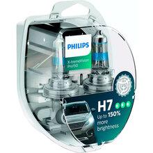 Галогенная лампа PHILIPS H7 X-treme VISION PRO +150% 3700K 2 шт / блистер (12972XVPS2)