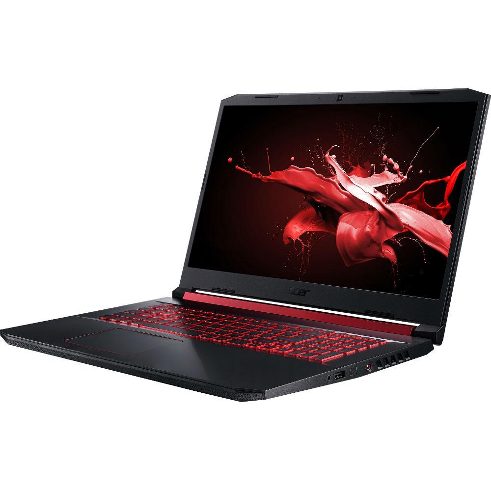 Ноутбук Acer Nitro 5 AN517-51-51S3 Shale Black (NH.Q5CEU.011) Диагональ дисплея 17.3