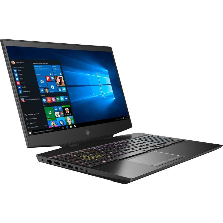 Ноутбук HP Omen 15-dh0007ur Shadow Black (7AU30EA) Разрешение дисплея 1920 x 1080