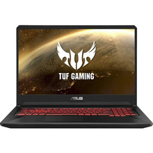 Ноутбук ASUS TUF Gaming FX505DY-BQ024 Black/Red (90NR01A2-M05140)