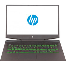 Ноутбук HP Pavilion 17-cd0011ur Gaming Black (7DY42EA)