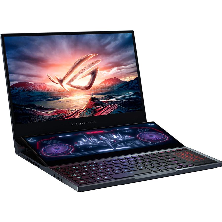 Ноутбук ASUS ROG Zephyrus Duo 15 GX550LWS-HF096T Gunmetal Gray (90NR02Y1-M02210) Модельный ряд Asus ROG
