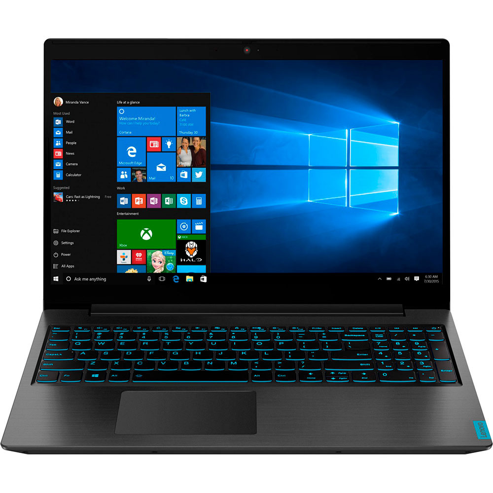 Ноутбук LENOVO L340-15IRH Gaming Black (81LK01D1RA)