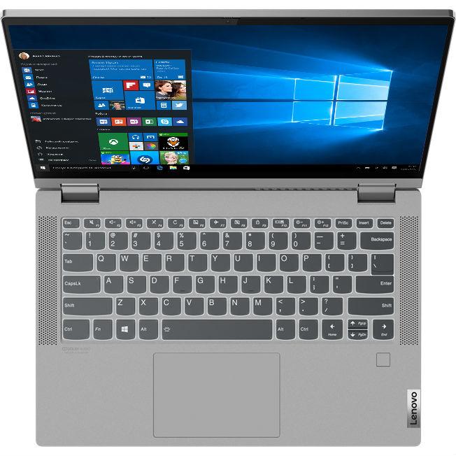 Ноутбук Lenovo IdeaPad Flex 5 14IIL05 Platinum Grey (81X100NRRA) Диагональ дисплея 14