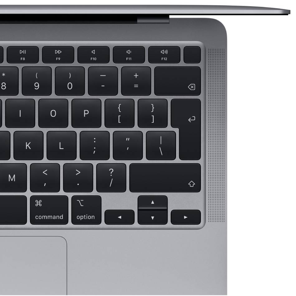 "Ноутбук APPLE MacBook Air 13"" A2337 Space Gray (Z124000MM) Диагональ дисплея 13.3"