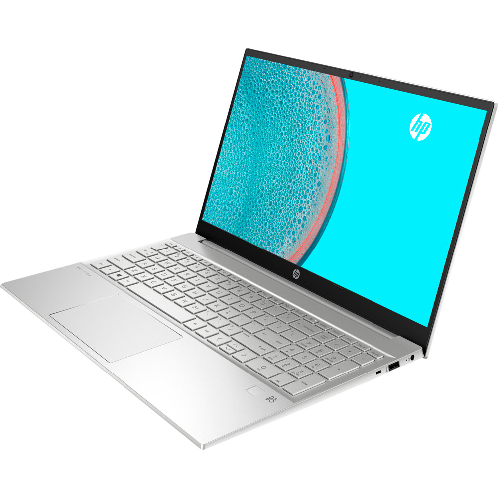 Ноутбук HP Pavilion 15-eh0003ua Silver (381K3EA) Диагональ дисплея 15.6