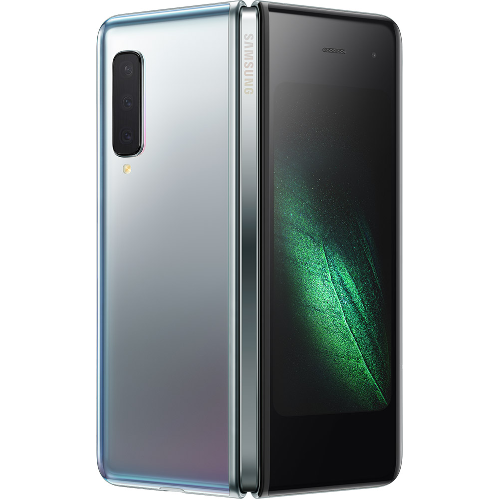 Смартфон SAMSUNG Galaxy Fold 12/512 Gb Silver (SM-F900FZSDSEK) Вбудована пам'ять, Гб 512