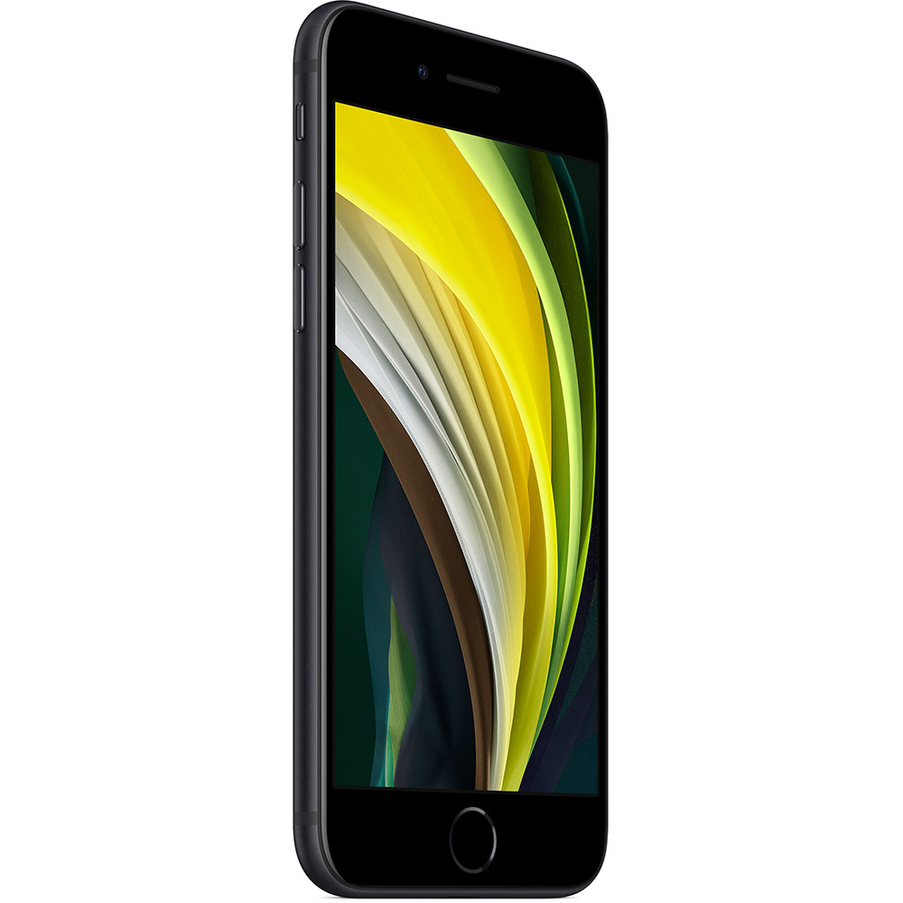 Смартфон APPLE iPhone SE (2 поколения) 64GB Black (MX9R2) Оперативная память 3072