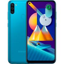Смартфон SAMSUNG Galaxy M11 3/32 Gb Dual Sim Blue (SM-M115FMBNSEK)