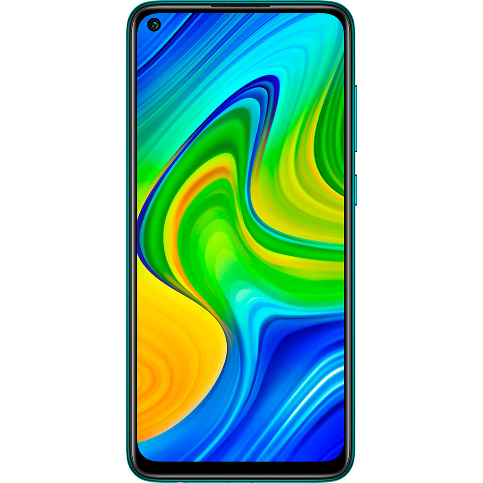 Смартфон XIAOMI Redmi Note 9 4/128 Gb Dual Sim Forest Green Встроенная память, Гб 128