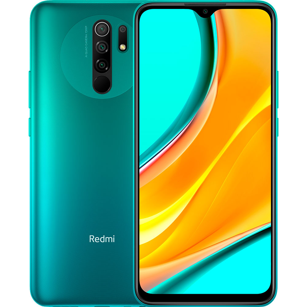 Смартфон XIAOMI Redmi 9 3/32GB Ocean green