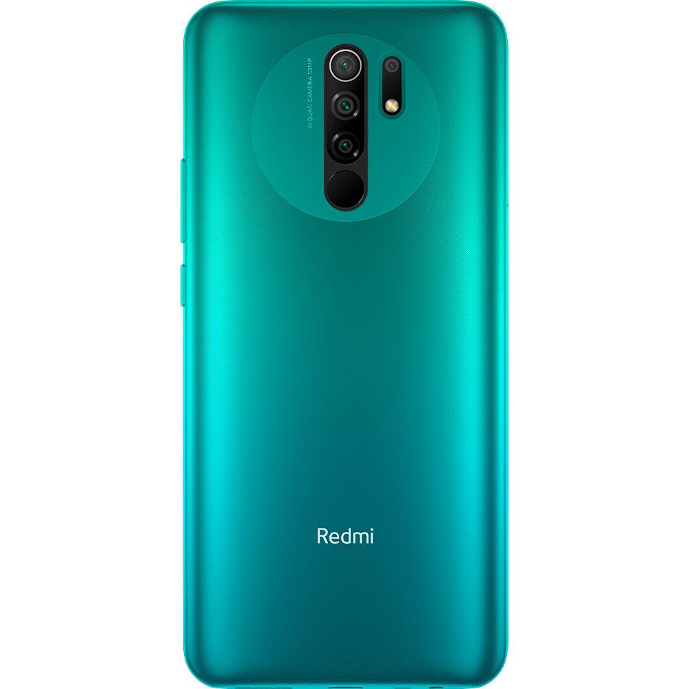 Смартфон XIAOMI Redmi 9 3/32GB Ocean green Оперативна пам'ять 3072