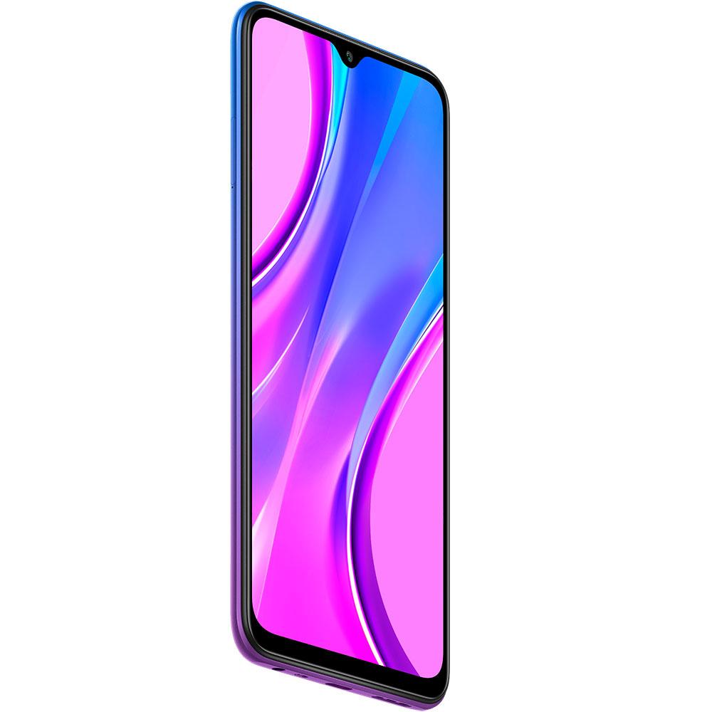 Смартфон XIAOMI Redmi 9 4/64GB Sunset purple Диагональ дисплея 6.53
