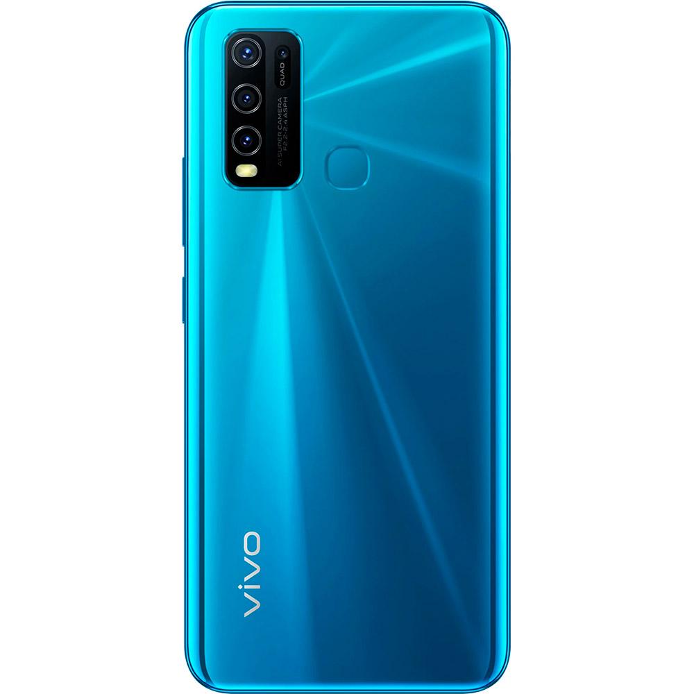 Смартфон VIVO Y30 4/64 GB Dual Sim Dazzle Blue Встроенная память, Гб 64