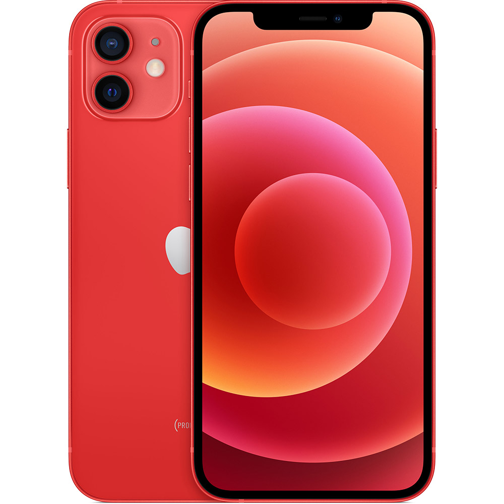 Смартфон APPLE iPhone 12 128GB Red (MGJD3/MGHE3)