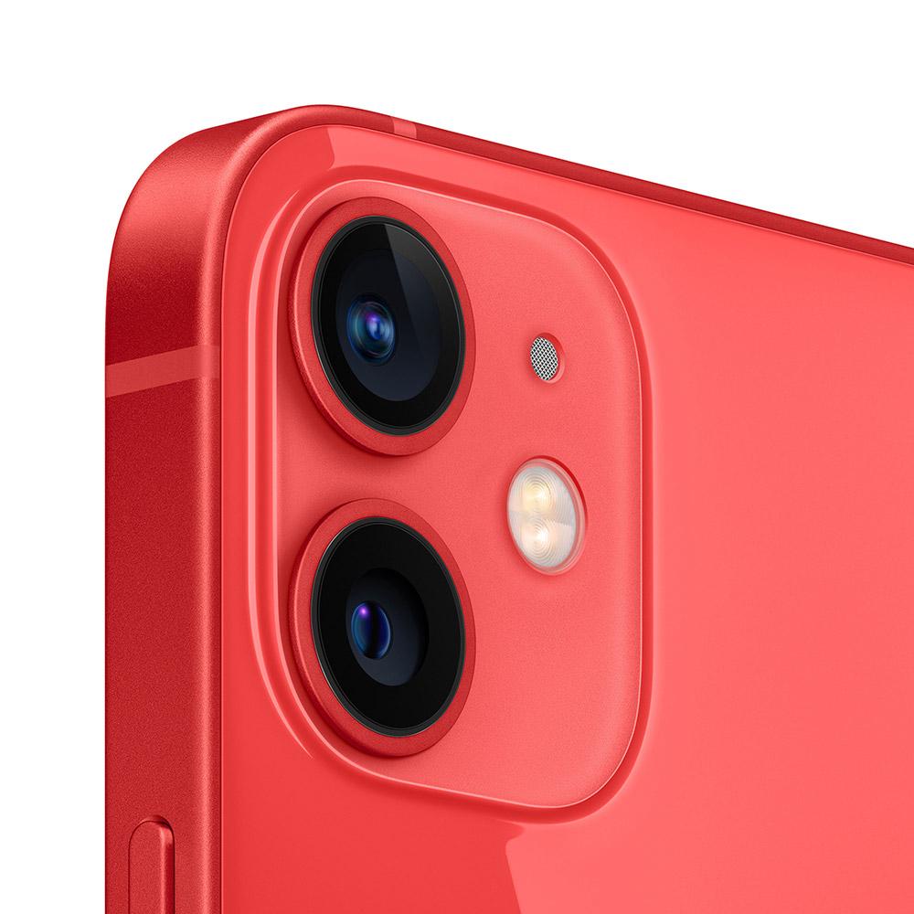 Смартфон APPLE iPhone 12 mini 128GB Red (9MGE53) Матрица OLED