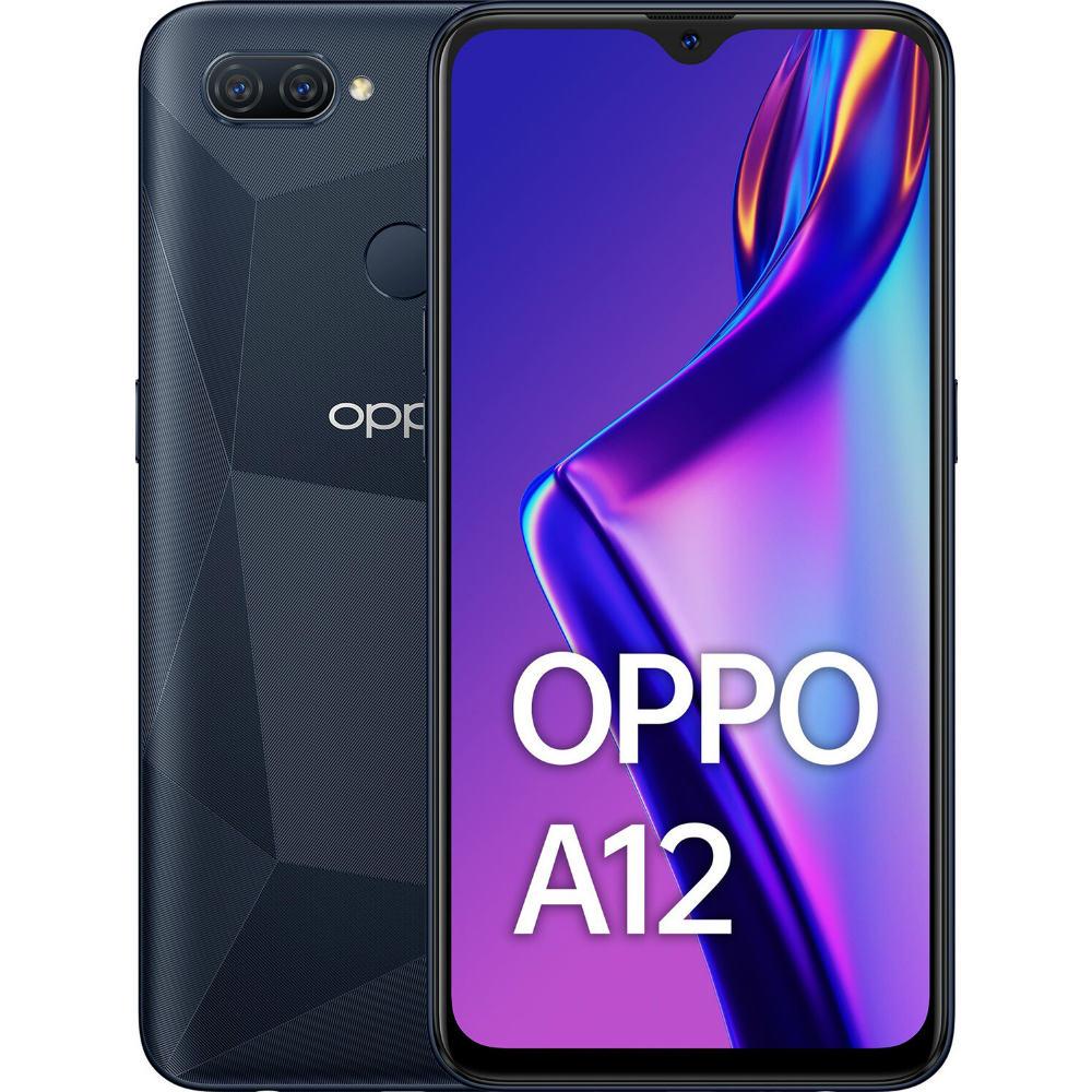 Смартфон OPPO A12 3/32 GB Black