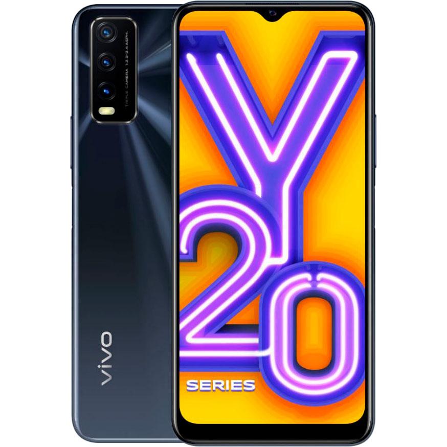 Смартфон VIVO Y20 4/64GB Obsidian Black
