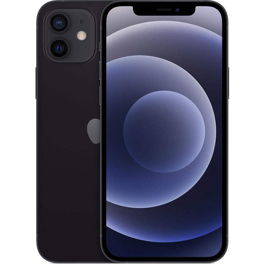 Смартфон APPLE iPhone 12 64GB Black (MGJ53)
