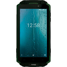 Смартфон SIGMA X-treme PQ39 Ultra 6/128GB Black-Green (4827798337240)