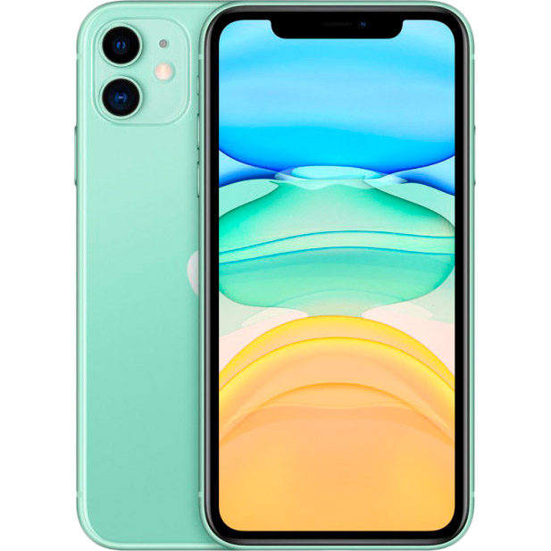 Смартфон APPLE iPhone 11 64GB Green (MHDG3) (без адаптера)