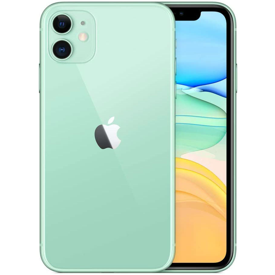 Смартфон APPLE iPhone 11 64GB Green (MHDG3) (без адаптера) Встроенная память, Гб 64
