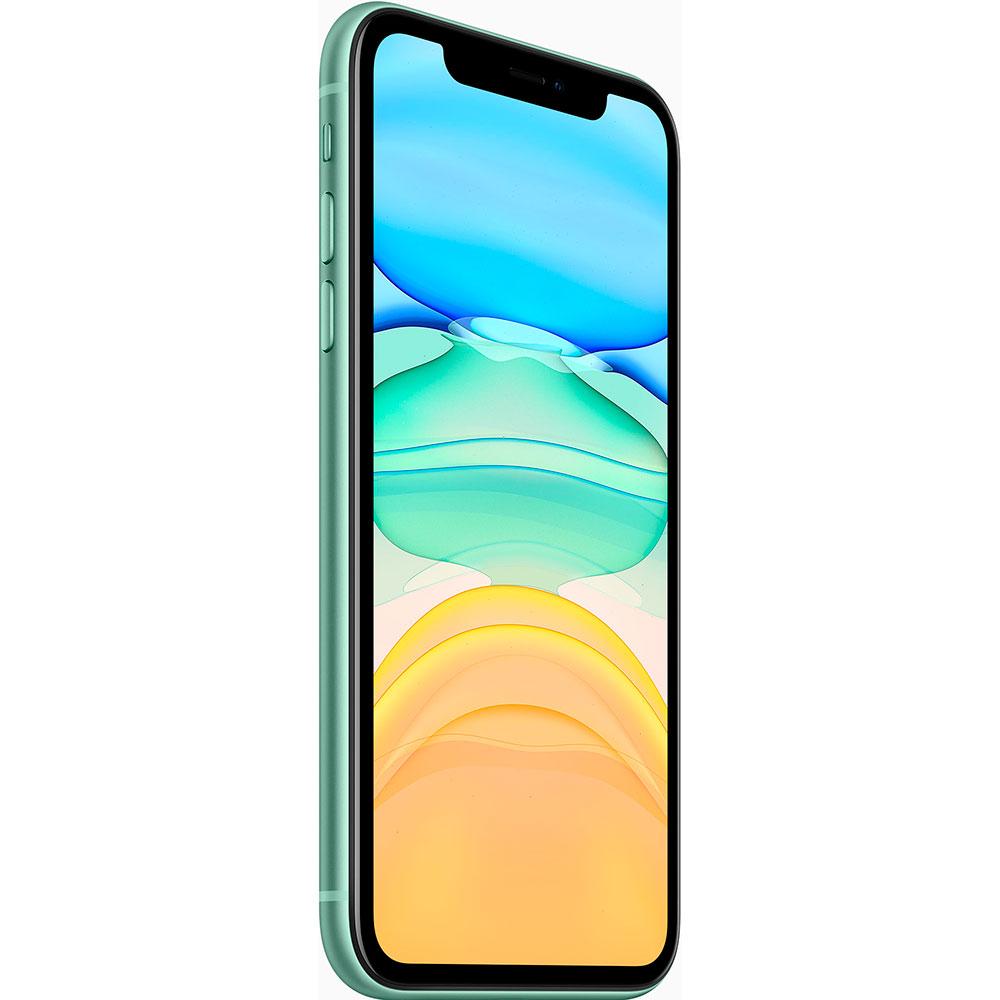 Смартфон APPLE iPhone 11 64GB Green (MHDG3) (без адаптера) Оперативная память 4096