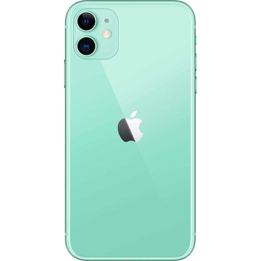 Смартфон APPLE iPhone 11 64GB Green (MHDG3) (без адаптера) Диагональ дисплея 6.1
