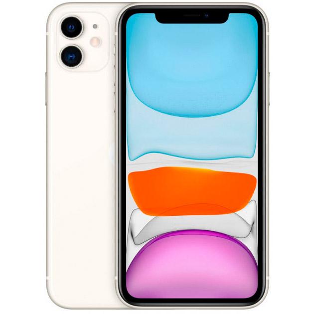 Смартфон APPLE iPhone 11 128GB White (MHDJ3) (без адаптера)