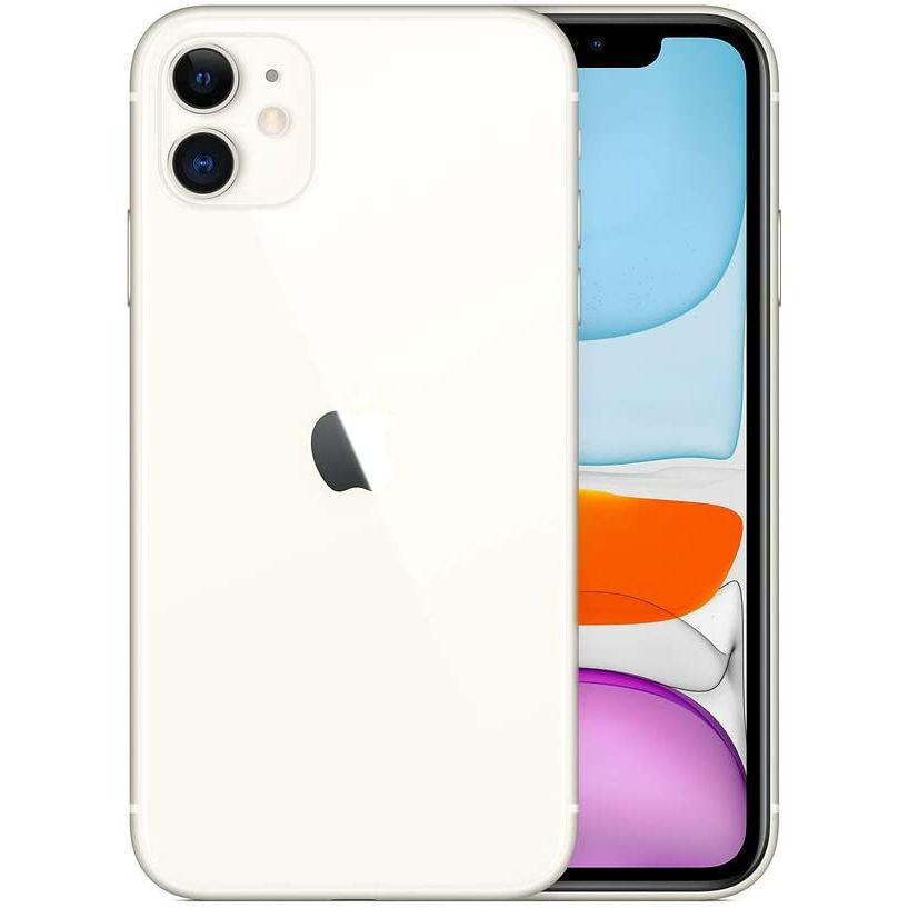 Смартфон APPLE iPhone 11 128GB White (MHDJ3) (без адаптера) Встроенная память, Гб 128