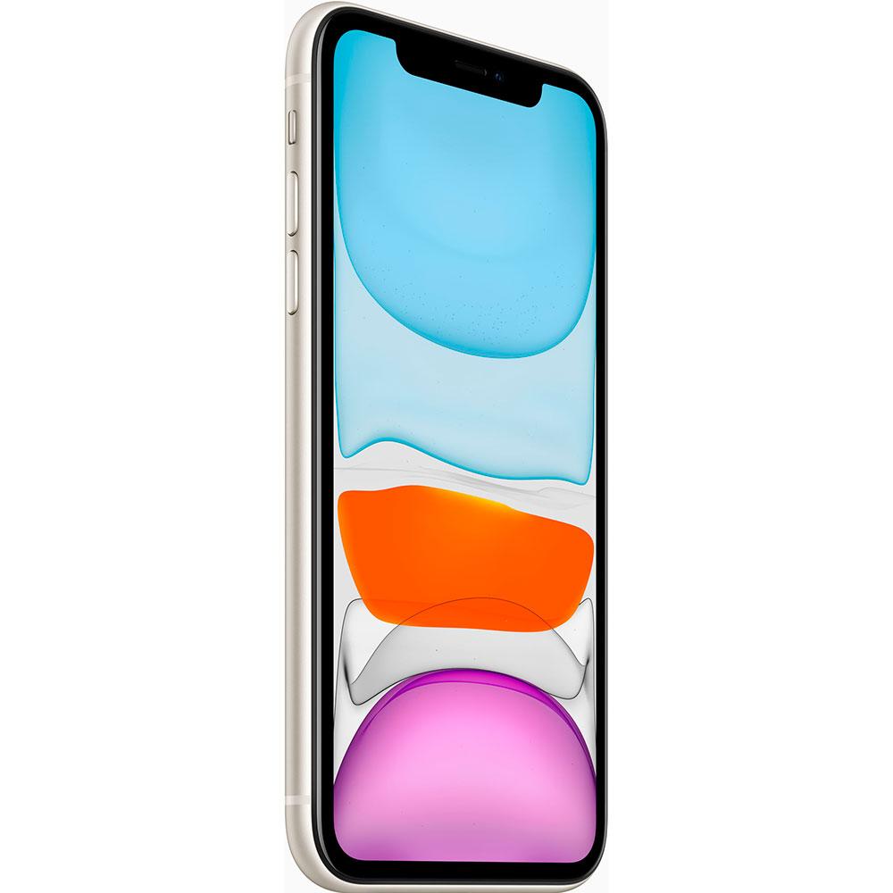 Смартфон APPLE iPhone 11 128GB White (MHDJ3) (без адаптера) Оперативная память 4096