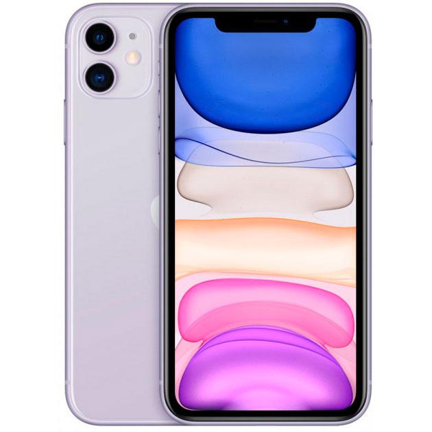 Смартфон APPLE iPhone 11 128GB Purple (MHDM3) (без адаптера)