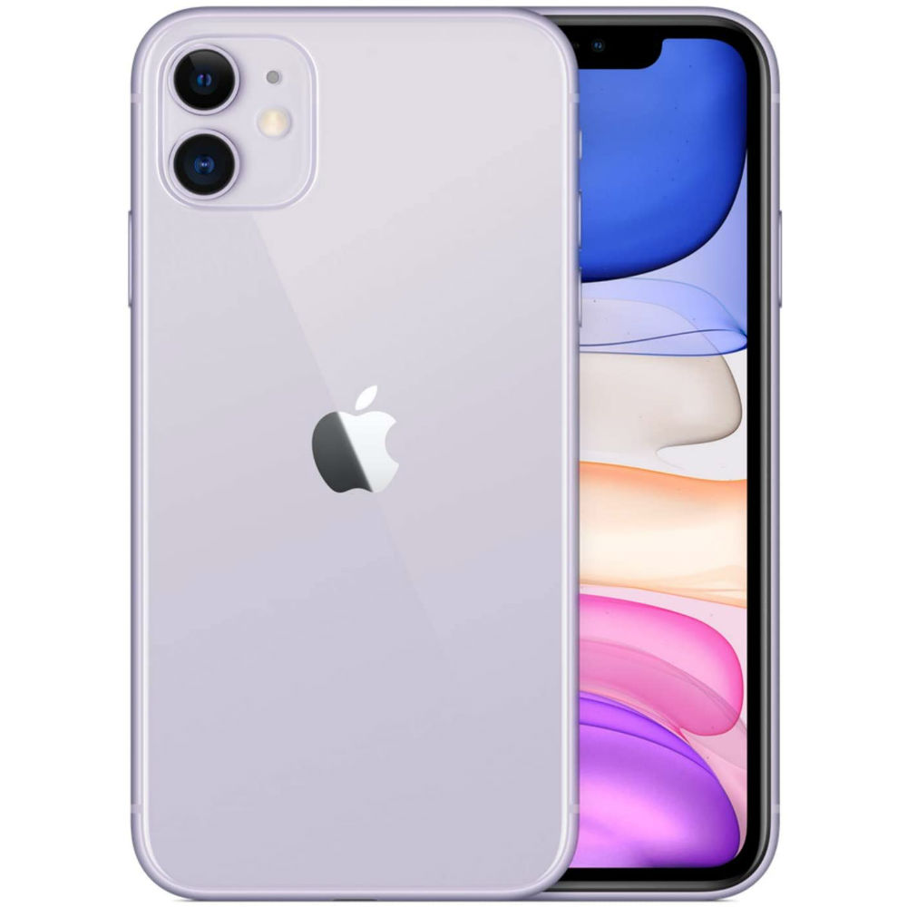 Смартфон APPLE iPhone 11 128GB Purple (MHDM3) (без адаптера) Встроенная память, Гб 128