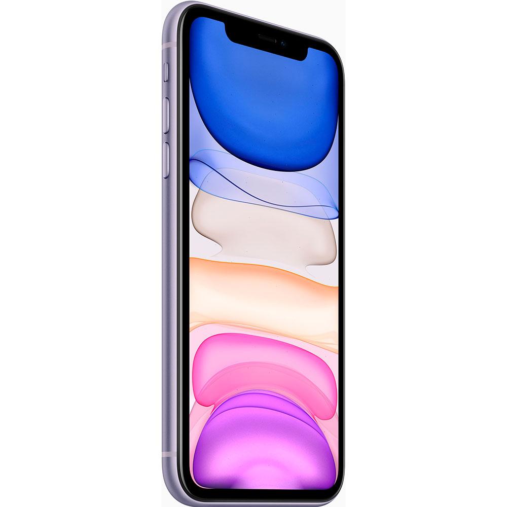 Смартфон APPLE iPhone 11 128GB Purple (MHDM3) (без адаптера) Оперативная память 4096