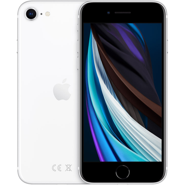 Смартфон APPLE iPhone SE 64GB White (MHGQ3) (без адаптера)