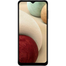 Смартфон SAMSUNG Galaxy A12 4/64 Gb Dual Sim Black (SM-A125FZKVSEK)