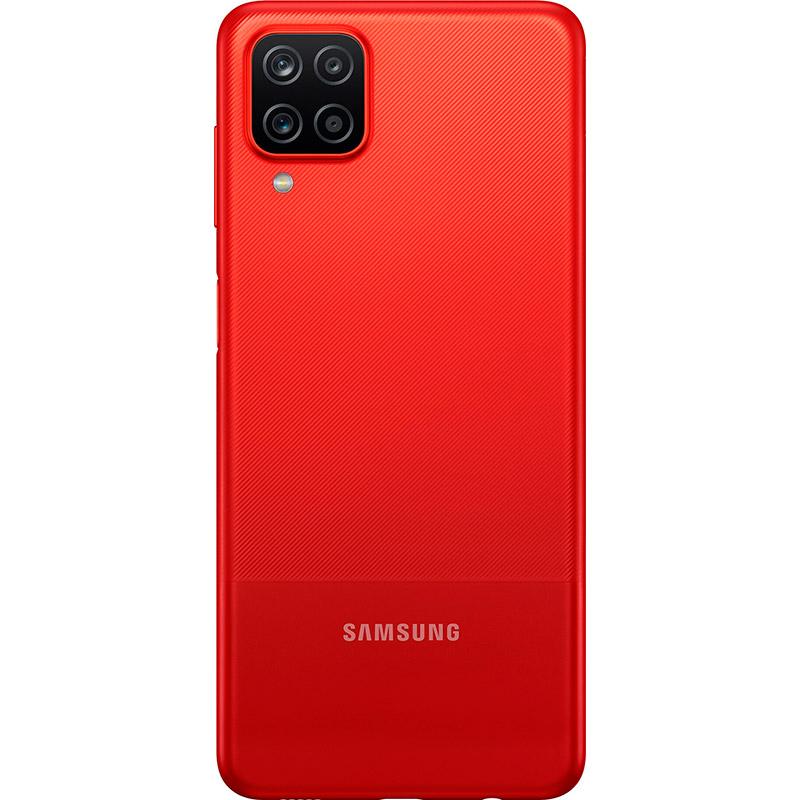 Смартфон SAMSUNG Galaxy A12 4/64 Gb Dual Sim Red (SM-A125FZRVSEK) Встроенная память, Гб 64