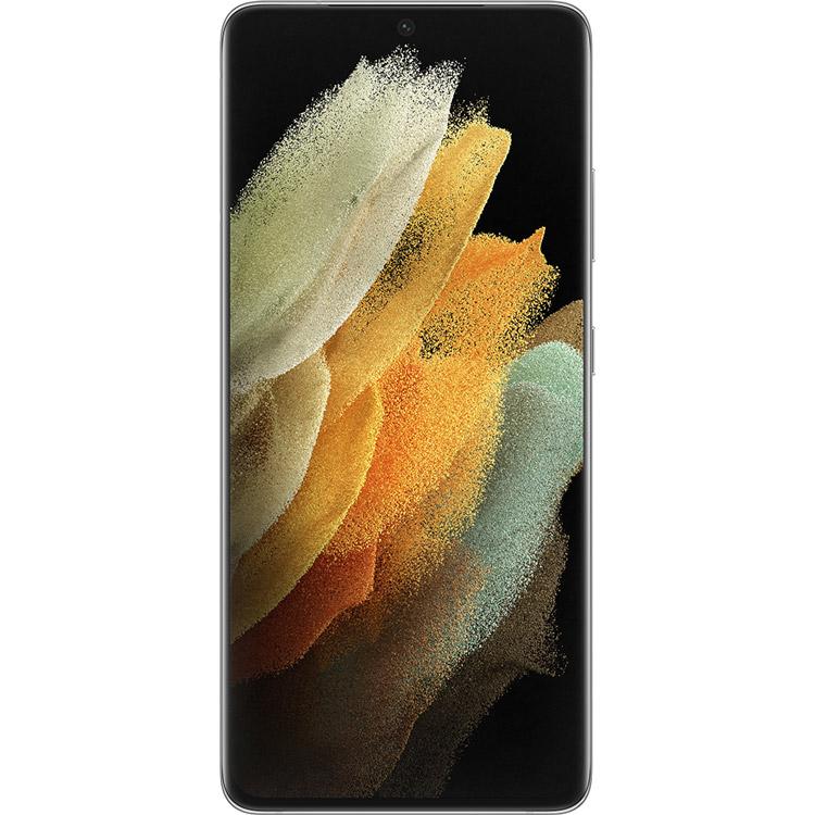 Смартфон SAMSUNG Galaxy S21 Ultra 12/128 Gb Dual Sim Phantom Silver (SM-G998BZSDSEK) Встроенная память, Гб 128
