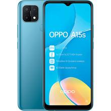 Смартфон OPPO A15s 4/64 Gb Dual Sim Mystery Blue