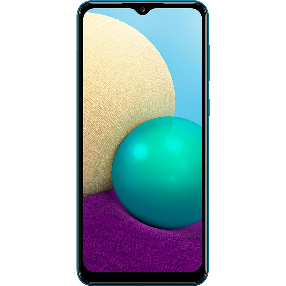 Смартфон SAMSUNG Galaxy A02 2/32 Gb Dual Sim Blue (SM-A022GZBBSEK) Встроенная память, Гб 32
