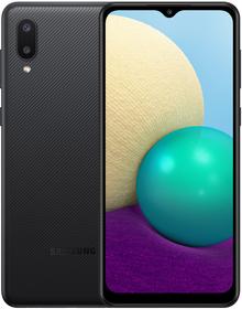 Смартфон SAMSUNG Galaxy A02 2/32 Gb Dual Sim Black (SM-A022GZKBSEK)