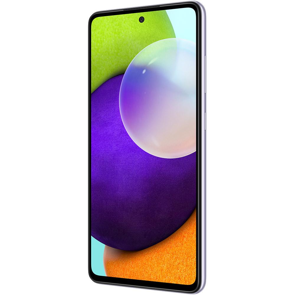Смартфон SAMSUNG Galaxy A52 4/128 Duos Light Violet (SM-A525FLVDSEK) Диагональ дисплея 6.5