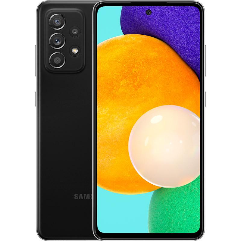 Смартфон SAMSUNG Galaxy A52 4/128 Duos Awesome Black (SM-A525FZKDSEK)