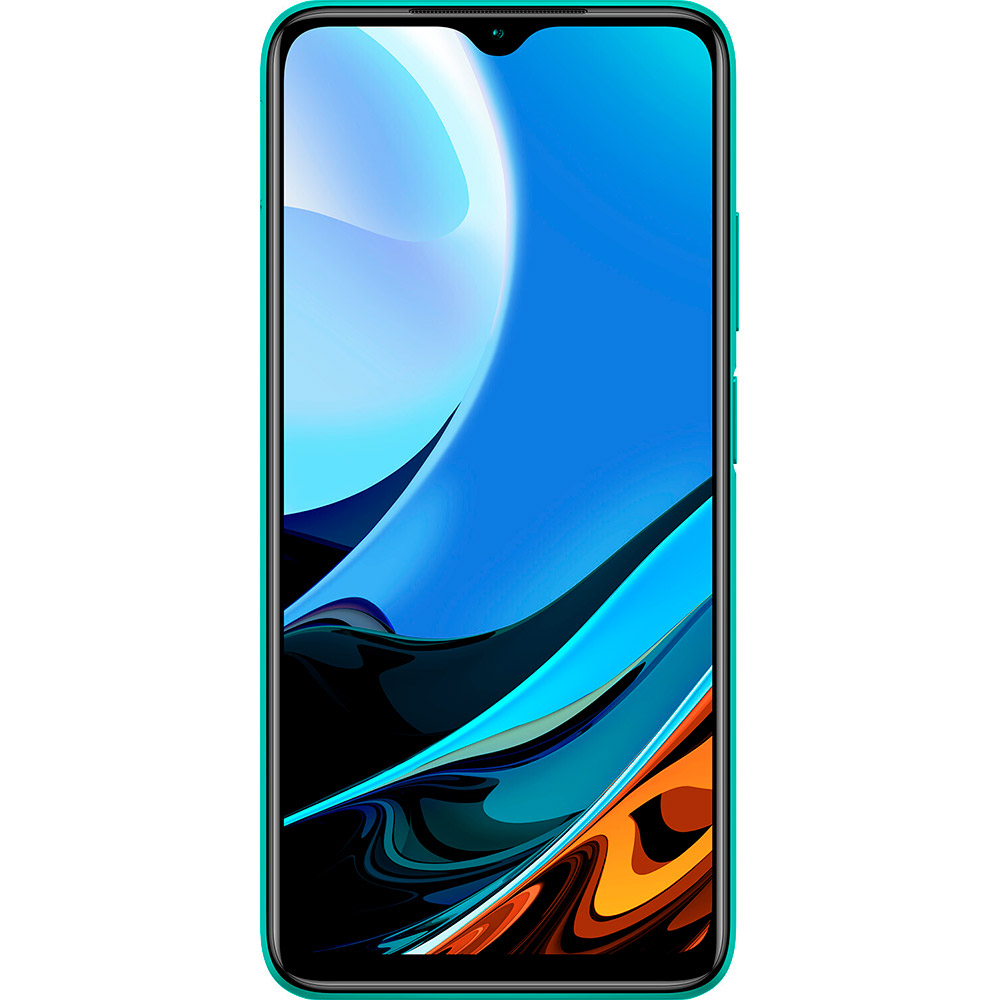 Смартфон XIAOMI Redmi 9T 4/64 Gb Dual Sim Ocean Green Встроенная память, Гб 64