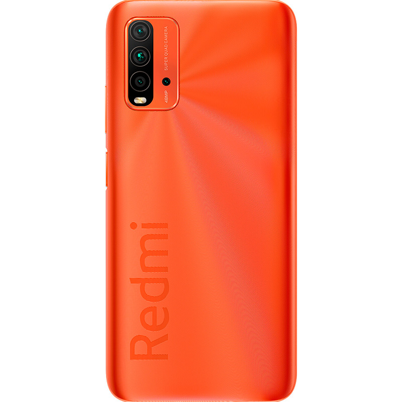 Смартфон XIAOMI Redmi 9T 4/128 GB Dual Sim Sunrise Orange Оперативная память 4096