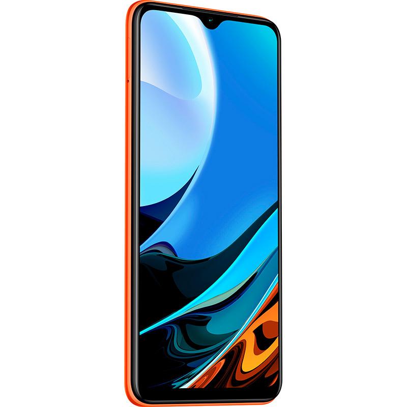 Смартфон XIAOMI Redmi 9T 4/128 GB Dual Sim Sunrise Orange Диагональ дисплея 6.53