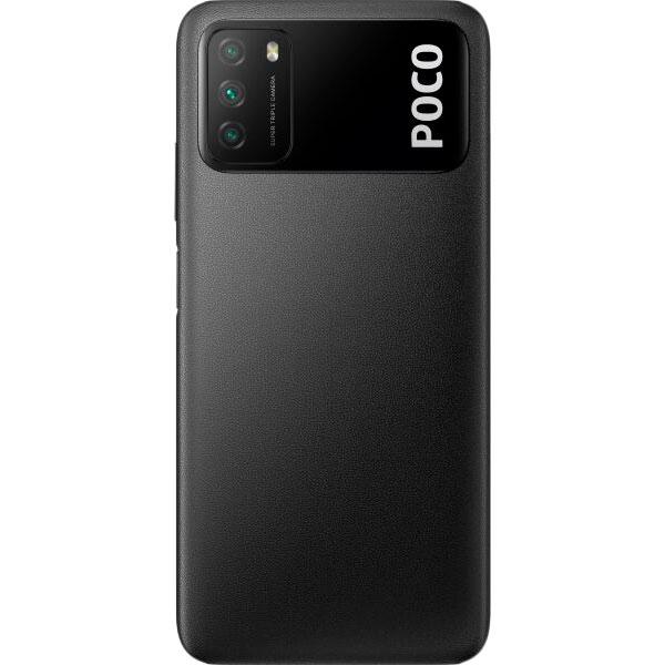 Смартфон XIAOMI Poco M3 4/128GB Black Оперативная память 4096